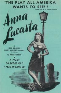 Anna Lucasta (Broadway) - 11 x 17 Poster - Style A