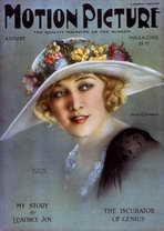 Anna Q. Nilsson - 11 x 17 Motion Picture Magazine Cover 1930's Style A