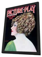 Anna Q. Nilsson - 11 x 17 Picture-Play Magazine Cover 1920's - in Deluxe Wood Frame