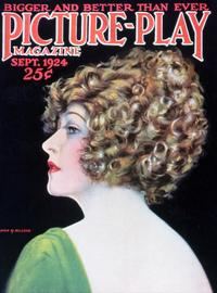 Anna Q. Nilsson - 27 x 40 Movie Poster - Picture-Play Magazine Cover 1920's
