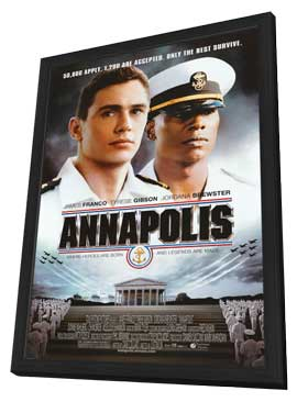 Annapolis - 11 x 17 Movie Poster - Style A - in Deluxe Wood Frame