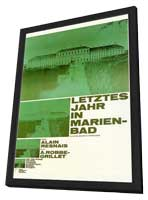 Ann�e derni�re � Marienbad, L' - 27 x 40 Movie Poster - Foreign - Style A - in Deluxe Wood Frame