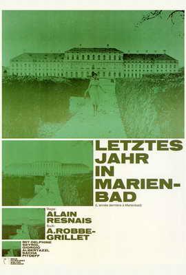 Ann�e derni�re � Marienbad, L' - 27 x 40 Movie Poster - Foreign - Style A