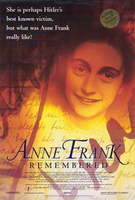Anne Frank Remembered - 27 x 40 Movie Poster - Style A