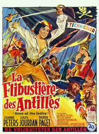 Anne of the Indies - 27 x 40 Movie Poster - Belgian Style B