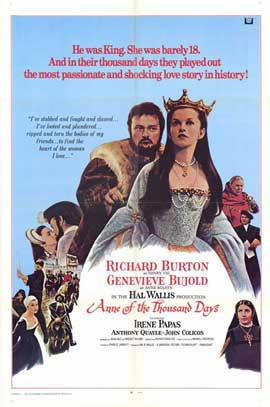 Anne of the Thousand Days - 11 x 17 Movie Poster - Style A