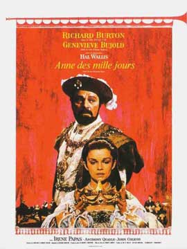 Anne of the Thousand Days - 11 x 17 Movie Poster - French Style A