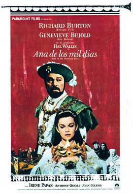 Anne of the Thousand Days - 11 x 17 Movie Poster - Spanish Style A