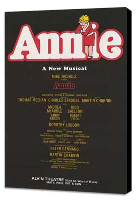 Annie (Broadway) - 11 x 17 Poster - Style A - Museum Wrapped Canvas