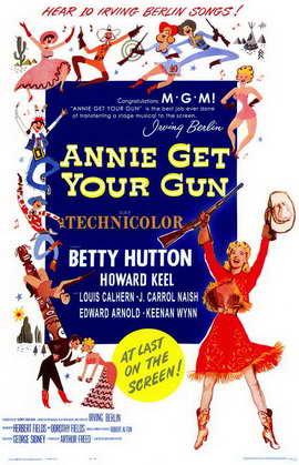 Annie Get Your Gun - 11 x 17 Movie Poster - Style A