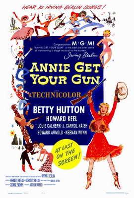 Annie Get Your Gun - 27 x 40 Movie Poster - Style A