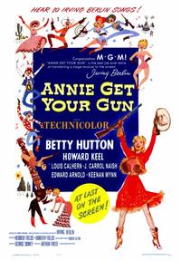 Annie Get Your Gun - 43 x 62 Movie Poster - Bus Shelter Style A