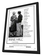 Annie Hall - 27 x 40 Movie Poster - Style A - in Deluxe Wood Frame