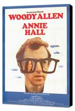 Annie Hall - 11 x 17 Movie Poster - French Style A - Museum Wrapped Canvas