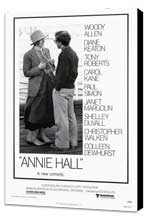 Annie Hall - 27 x 40 Movie Poster - Style A - Museum Wrapped Canvas