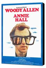 Annie Hall - 27 x 40 Movie Poster - French Style A - Museum Wrapped Canvas