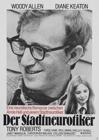 Annie Hall - 27 x 40 Movie Poster - German Style A