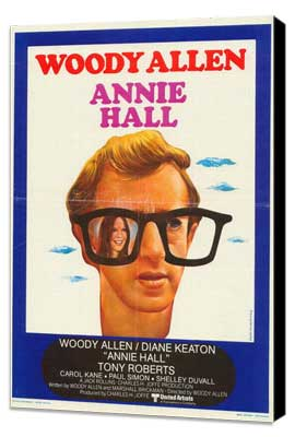Annie Hall - 11 x 17 Movie Poster - Belgian Style A - Museum Wrapped Canvas