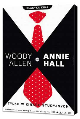 Annie Hall - 11 x 17 Movie Poster - Polish Style A - Museum Wrapped Canvas
