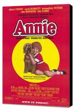 Annie - 27 x 40 Movie Poster - Style A - Museum Wrapped Canvas