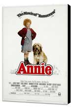 Annie - 27 x 40 Movie Poster - Style C - Museum Wrapped Canvas