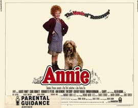 Annie - 22 x 28 Movie Poster - Half Sheet Style A