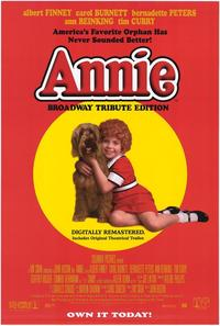 Annie - 43 x 62 Movie Poster - Bus Shelter Style A