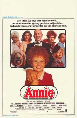 Annie - 11 x 17 Movie Poster - Belgian Style A