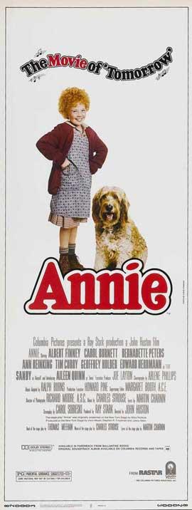 Annie - 14 x 36 Movie Poster - Insert Style A