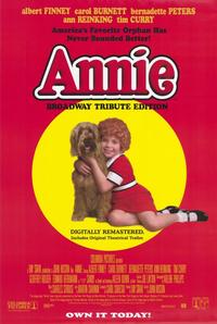 Annie - 11 x 17 Movie Poster - Style A - Museum Wrapped Canvas