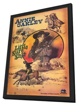 Annie Oakley: Little Sure Shot - 11 x 17 Movie Poster - Style A - in Deluxe Wood Frame