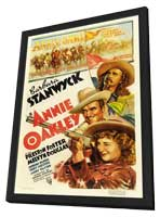 Annie Oakley - 11 x 17 Movie Poster - Style A - in Deluxe Wood Frame