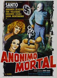 Anonimo mortal - 11 x 17 Movie Poster - Style A