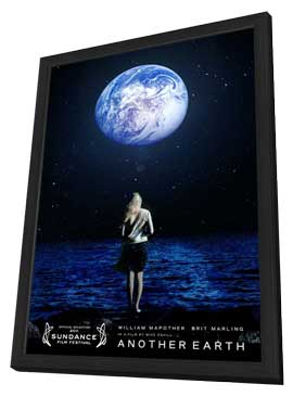 Another Earth - 11 x 17 Movie Poster - Style A - in Deluxe Wood Frame
