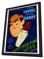 Another Fine Mess - 27 x 40 Movie Poster - Style A - in Deluxe Wood Frame