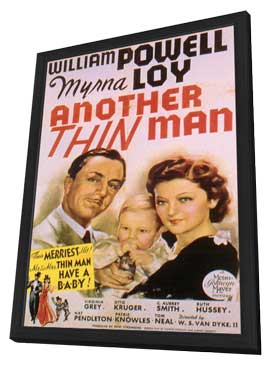 Another Thin Man - 11 x 17 Movie Poster - Style A - in Deluxe Wood Frame