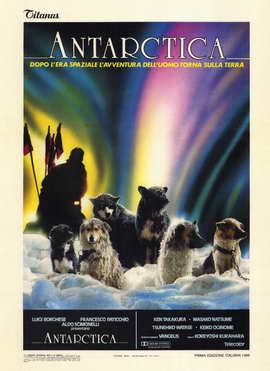 Antarctica - 11 x 17 Movie Poster - Italian Style A