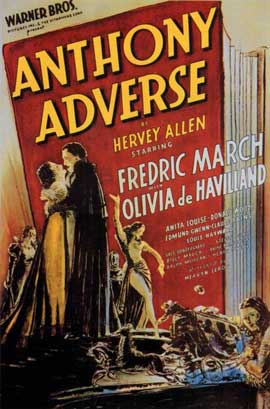 Anthony Adverse - 11 x 17 Movie Poster - Style A