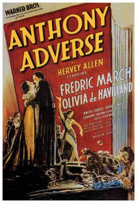 Anthony Adverse - 27 x 40 Movie Poster - Style A