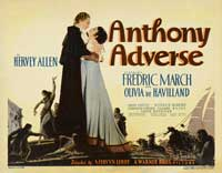 Anthony Adverse - 22 x 28 Movie Poster - Half Sheet Style A