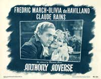 Anthony Adverse - 11 x 14 Movie Poster - Style F