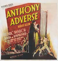 Anthony Adverse - 27 x 40 Movie Poster - Style B