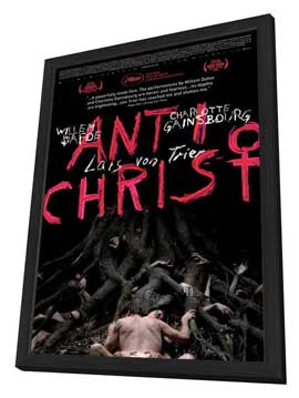 Antichrist - 27 x 40 Movie Poster - Style A - in Deluxe Wood Frame