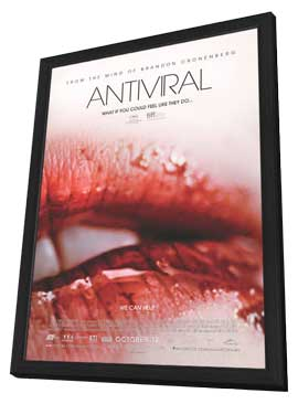 Antiviral - 11 x 17 Movie Poster - Canadian Style A - in Deluxe Wood Frame