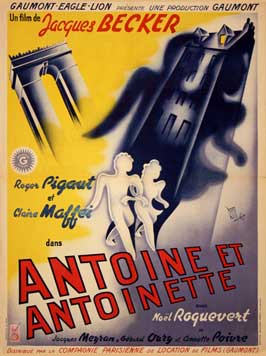 Antoine et Antoinette - 11 x 17 Movie Poster - French Style A