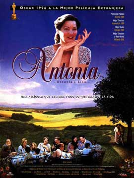 Antonia's Line - 11 x 17 Movie Poster - Spanish Style A