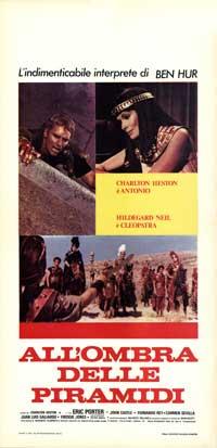 Antony and Cleopatra - 13 x 28 Movie Poster - Italian Style A