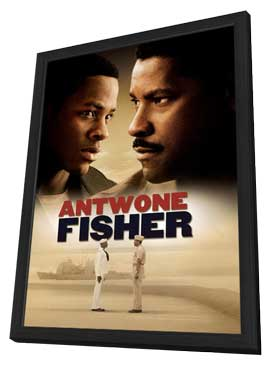 Antwone Fisher - 27 x 40 Movie Poster - Danish Style A - in Deluxe Wood Frame