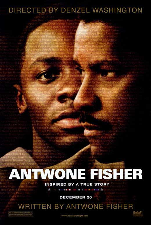 antwon fisher The directorial debut of academy award-winning actor denzel washington, antwone fisher is an autobiographical drama written by the real-life antwone fisher played by newcomer derek luke.