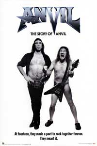 Anvil! The Story of Anvil - Movie Poster - 24 x 36 - Style A